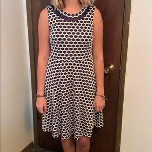 Stitch fix dress with hexagon print